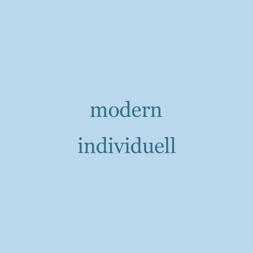 Modern Individuell