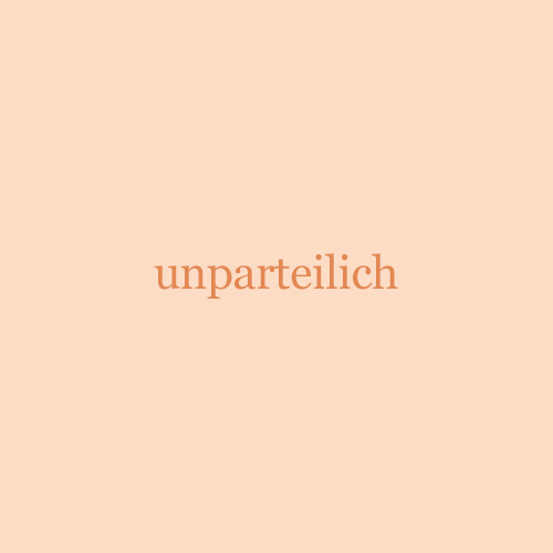 Unparteilich Neutral
