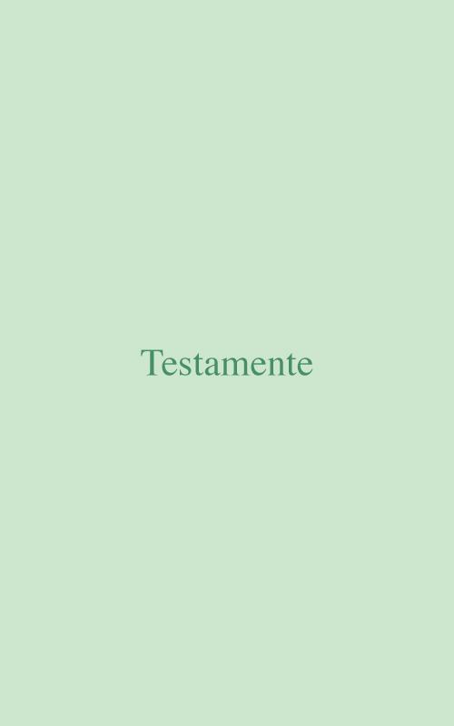 Testamente